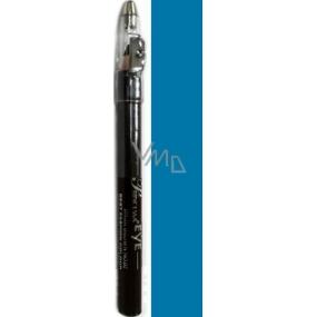 Princessa Fashion Best Colour voděodolná stínovací tužka na oči 14 Ice Blue se třpytkami 3,5 g