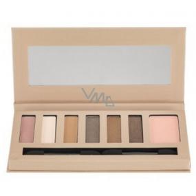 Barry M Natural Glow Shadow & Blush Palette paleta očních stínů s tvářenkou 4114 9,2 g