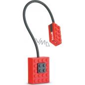 If Block Light Lego Lampička na knihu Červená 32 x 20 x 220 mm