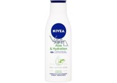 Nivea Aloe & Hydration 48h lehké tělové mléko 250 ml