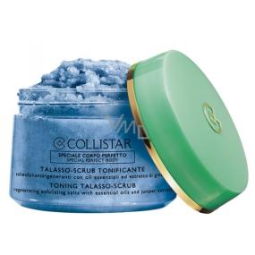 Collistar Toning Talasso Scrub tělový peeling pro podporu pružnosti pokožky 700 g