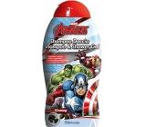 Marvel Avengers 2v1 sprchový a vlasový gel s bambuckým máslem pro děti 300 ml expirace 11/2018