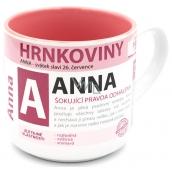 Nekupto Hrnkoviny Hrnek se jménem Anna 0,4 litru
