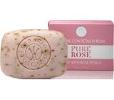 Erbario Toscano Růže toaletní mýdlo 140 g