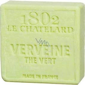 Le Chatelard Verbena a Zelený čaj toaletní mýdlo čtverec 100 g