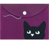 Albi Pouzdro na dokumenty Kočka s klubkem B6 - 176 x 125 mm