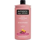 Authentic Toya Aroma Cranberries & Nectarine tekuté mýdlo náhradní náplň 600 ml
