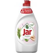 Jar Sensitive Aloe Vera & Pink Jasmine Scent Prostředek na ruční mytí nádobí 450 ml