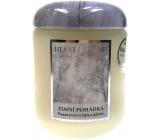 Heart & Home Zimní pohádka Sojová vonná svíčka velká hoří až 70 hodin 340 g
