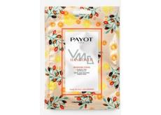 Payot Morning Hangover Masque Detoxikační rozjasňující látková maska 1 kus, 19 ml