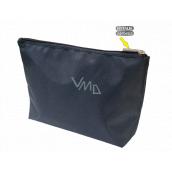 Natalia Angers Kosmetická kabelka na zip velká modrá 28,5 x 18,5 x 7,5 cm NA02
