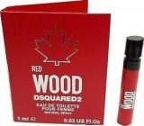 Dsquared2 Red Wood toaletní voda pro ženy 1 ml s rozprašovačem, vialka