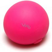 EP Line Antistresový míček svítící ve tmě světle růžový 6,5 cm
