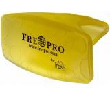 Fre Pro Bowl Clip Citrus vonný WC závěs žlutý 10 x 5 x 6 cm 55 g