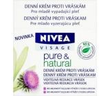 Nivea Visage Pure & Natural denní krém proti vráskám 50 ml