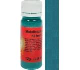 Art e Miss Barva na světlý i tmavý textil 32 metalická tyrkysová 12 g