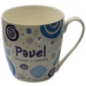 Nekupto Twister hrnek se jménem Pavel modrý 0,4 litru