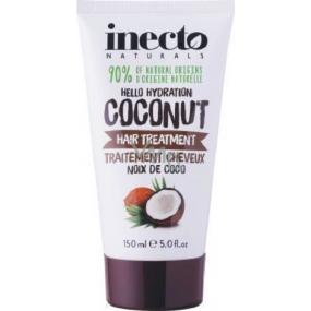 Inecto Naturals Coconut maska na vlasy s čistým kokosovým olejem 150 ml