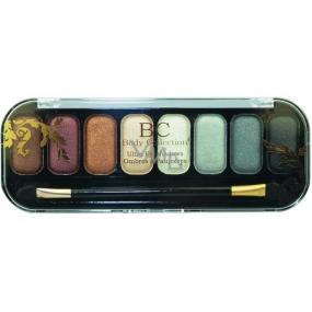 Body Collection Ultra Eyeshadows kosmetická paletka očních stínů 14501 8 x 1,2 g