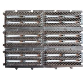 Spokar Rohožka kartáčová skládací, složená ze 6 dílů, zatloukaná syntetická vlákna, lze skládat i větší plochy z více dílů C 1053
