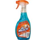 Mr. Muscle 5v1 čistič na okna a sklo modrý rozprašovač 500 ml