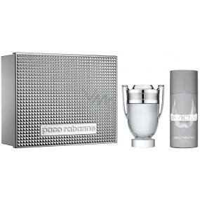 Paco Rabanne Invictus toaletní voda 100 ml + deodorant sprej 150 ml, dárková sada