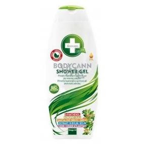 Annabis Bodycann přírodní regenerační sprchový gel pro citlivou pokožku vhodný i pro ekzémy 250ml