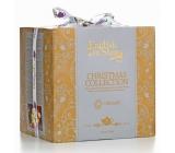 English Tea Shop Bio Vánoční kostka ve Viktoriánském stylu 96 nálevových sáčků 16 krabiček, 6 různých příchutí