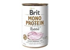 Brit Mono Protein Králík 100% čistý králičí protein Kompletní krmivo pro psy 400 g