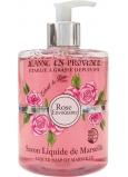Jeanne en Provence Rose Envoutante - Podmanivá růže mycí gel na ruce 500 ml
