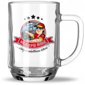 Nekupto Hobby pivní sklenice Nejlepší řidič 500 ml