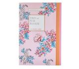 Heathcote & Ivory Pinks & Pear Blossom parfémovaný papír 5 archů