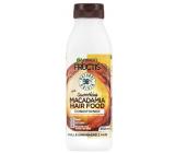 Garnier Fructis Smoothing Macadamia Hair Food hydratační kondicionér pro hladký účes na suché, nepoddajné a krepaté vlasy 350 ml