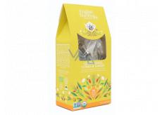 English Tea Shop Bio Citrónová tráva, Zázvor a Citrusy 15 kusů bioodbouratelných pyramidek čaje, 30 g