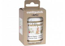 Apli Cut & Patch krycí lak/lepidlo na ubrouskovou metodu transparentní 100 ml