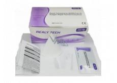 Realy Tech Novel Coronavirus SARS-Cov-2 Antigen Rapid Test Device saliva rychlotest na Koronavirus ze slin 5 ks