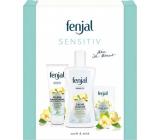 Fenjal Sensitive sprchový gel 200 ml + krém na ruce 75 ml + krémové toaletní mýdlo 100 g, kosmetická sada