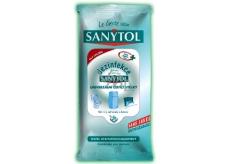 Sanytol Dezinfekční čistící utěrky jednorázové 24 ks