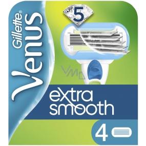 Gillette Venus Extra Smooth náhradní hlavice pro ženy 4 kusy