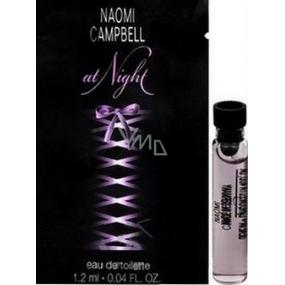 Naomi Campbell At Night toaletní voda pro ženy 1,2 ml s rozprašovačem, Vialka