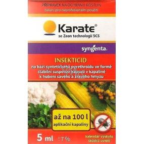 Karate se Zeon technologií 5CS přípravek k hubení savého a žravého hmyzu 5 ml