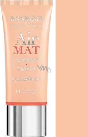 Bourjois Air Mat Foundation zmatňující make-up 01 Rose Ivory 30 ml