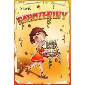 Nekupto Přání k narozeninám Slavíš narozeniny G 31 3230