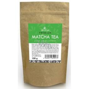Allnature Premium Matcha Tea prášek z čajových lístků zeleného čaje 100 g