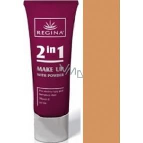 Regina With Powder 2v1 make-up s pudrem odstín 4 40 g