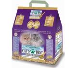 Cats Best Nature Gold hrudkující podestýlka ze dřeva, pro dlouhosrstá plemena koček 10 l