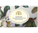 English Soap Vintage Jasmín Přírodní parfémované mýdlo s bambuckým máslem 200 g