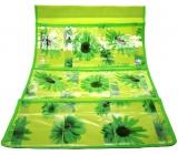 Kapsář na zavěšení zelený 59 x 36 cm 3 kapsy 715