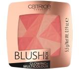 Catrice Blush Box Glowing + Multicolour tvářenka 010 Dolce Vita 5,5 g