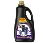 Woolite Dark Black & Denim tekutý prací prostředek s keratinem na tmavé a černé prádlo 60 dávek 3,6 l